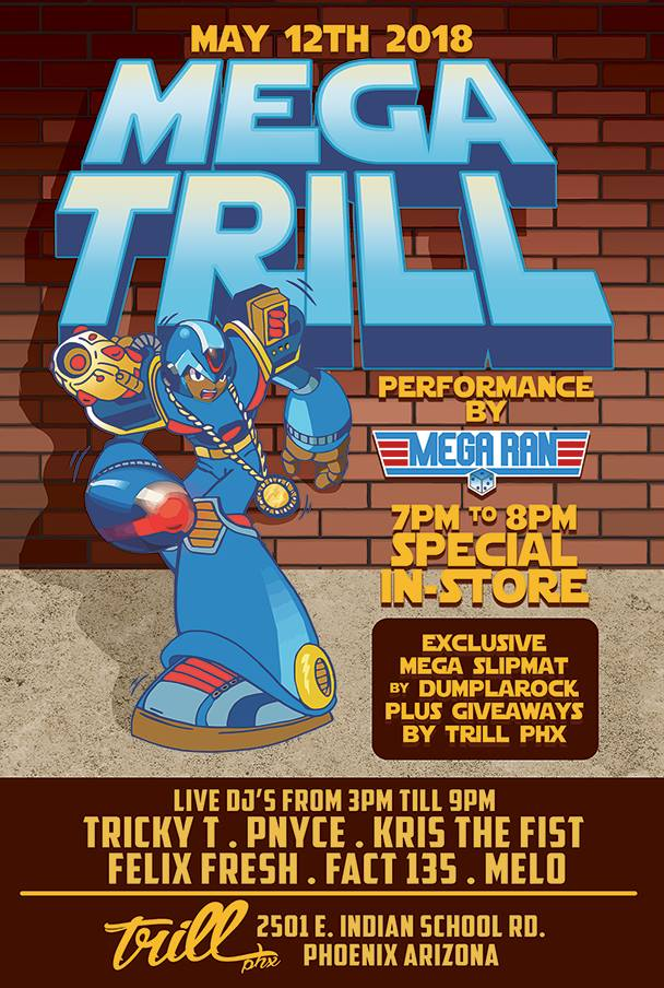 Grand Opening – Mega Trill – Trill Arizona's only Hip Hop Shop!