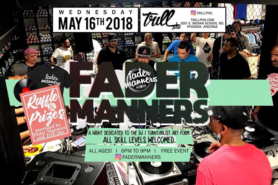 Fader Manners – Trill Hip Hop Shop