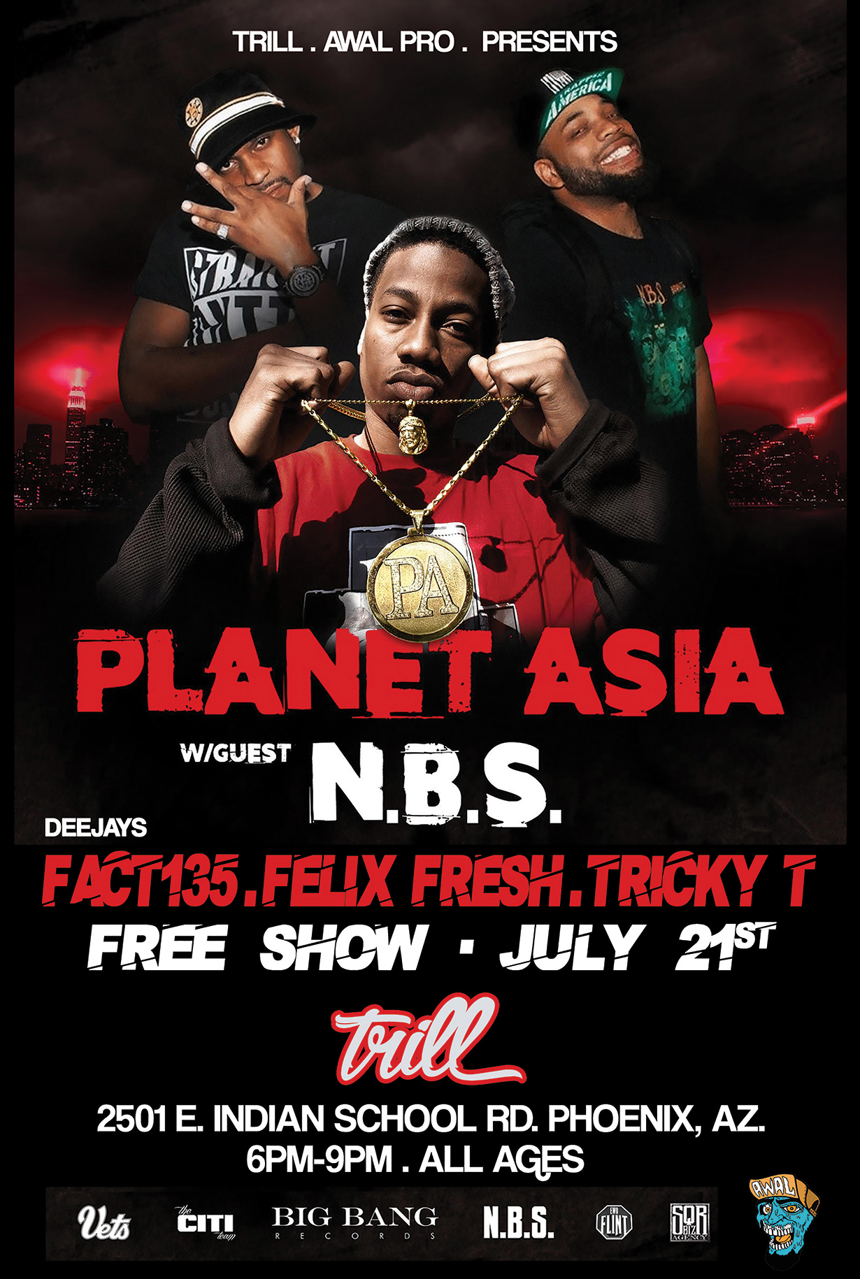 Planet Asia Live in Store! – Trill Hip Hop Shop
