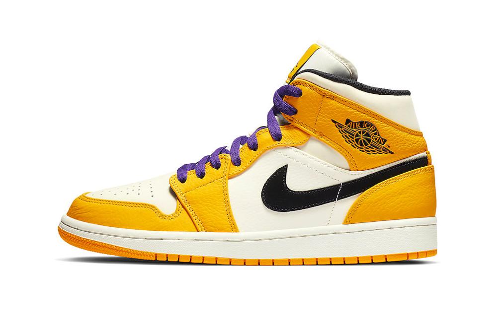 Nike Air Jordan 1 Lakers Trill