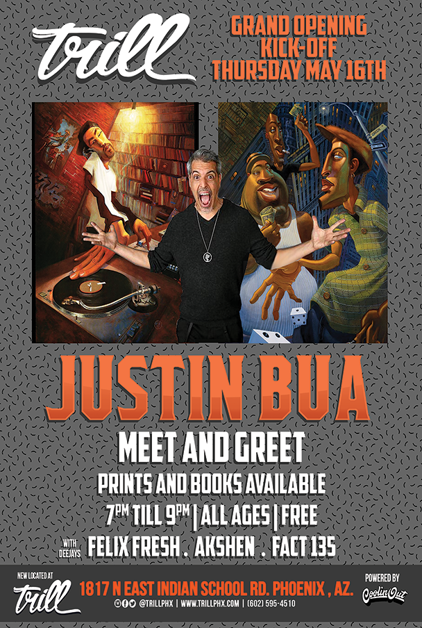 Trill's Grand Opening Day 2 With Justin Bua!
