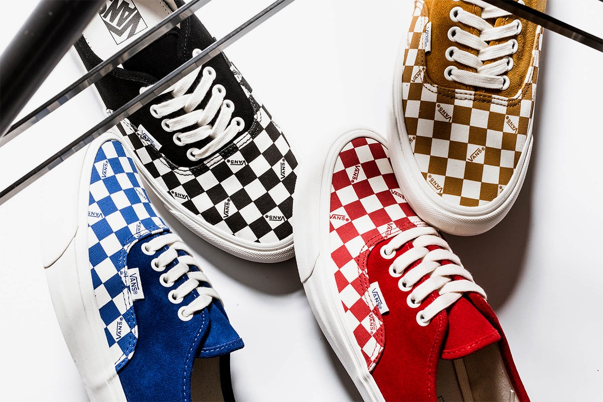 Vans Vault OG Authentic LX Checkerboard Pack