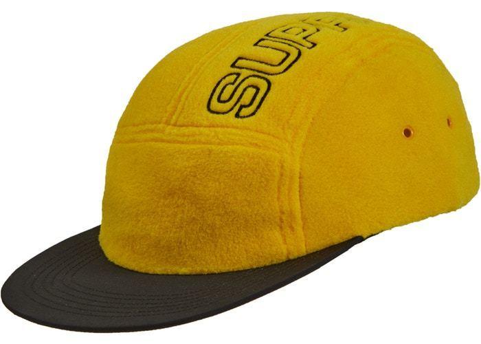 540d9c5102470 Supreme Polartec Camp Cap Yellow - Trill