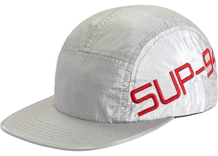 29d298caf0c4b Supreme Side Logo Camp Cap - Silver - Trill