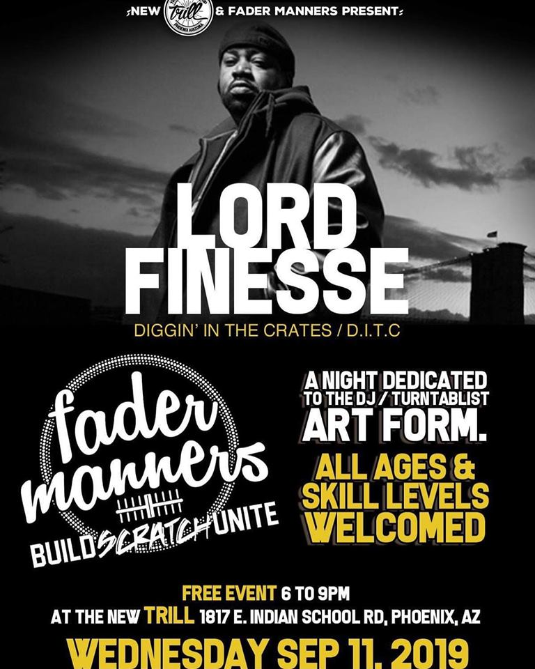 Fader Manners ft. Lord Finesse at Trill