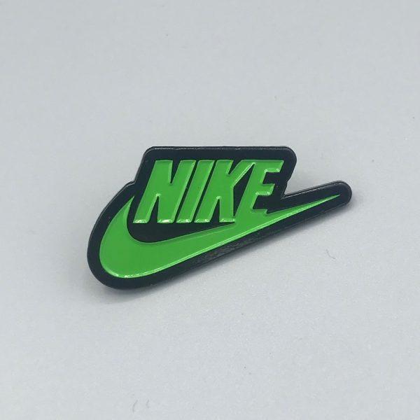 Nike Logo Green Pin