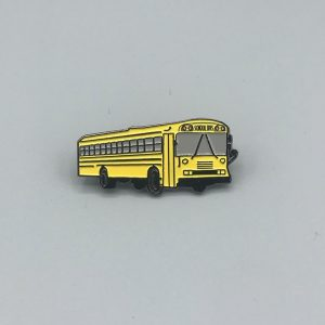 Yellow Bus Pin