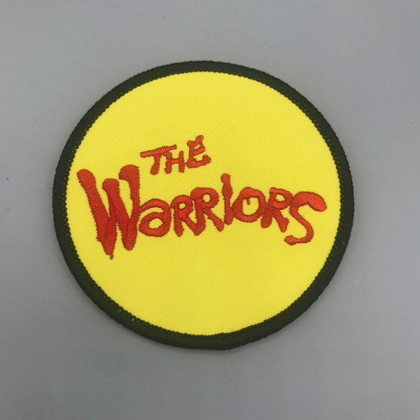 The Warriors Circle Patch Yellow