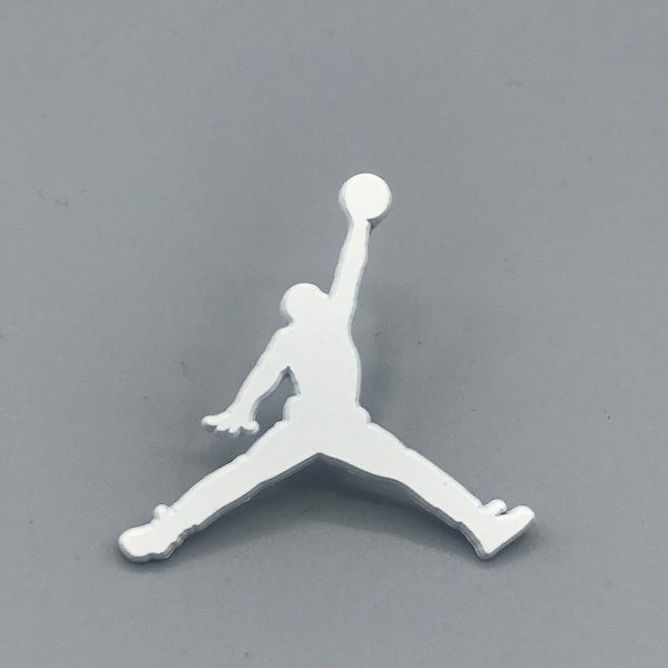 Air Jordan Jumpman Pin White