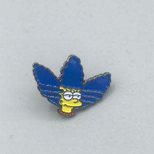 Marge Simpson Adidas Pin