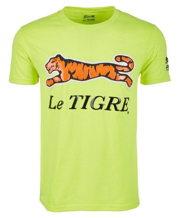 Le Tigre Classic Logo Yellow T-Shirt