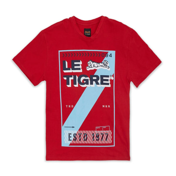 Le Tigre Spencer Red Tee