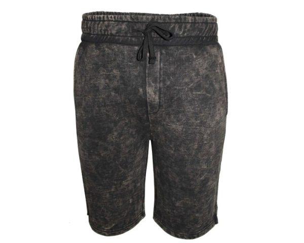 Kangol Denim Dye Shorts – Taupe