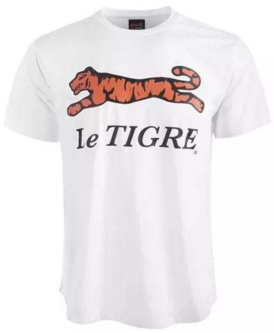 Le Tigre Classic Logo White Tee