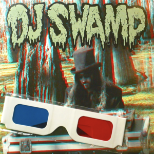 "DJ Swamp 3D 7"" Scratch Record"