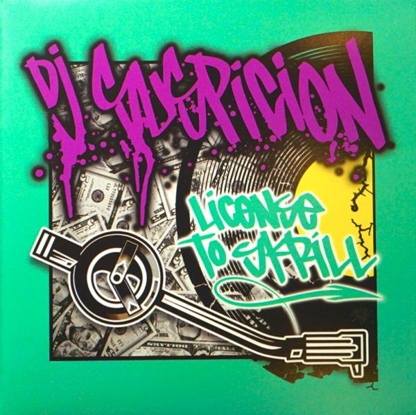 "DJ Suspicion - License to Skrill 7"" Scratch Record"