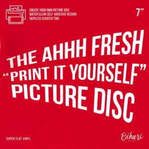 "The Ahhh Fresh ""Print It Yourself"" Picture Disc 7"""