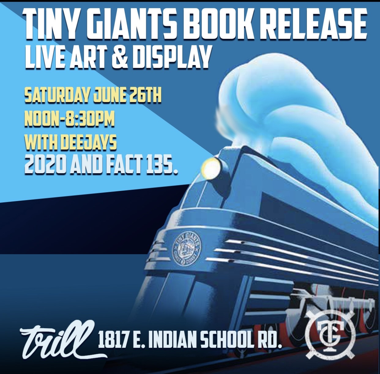 Tiny Giants Book Release and Art Display
