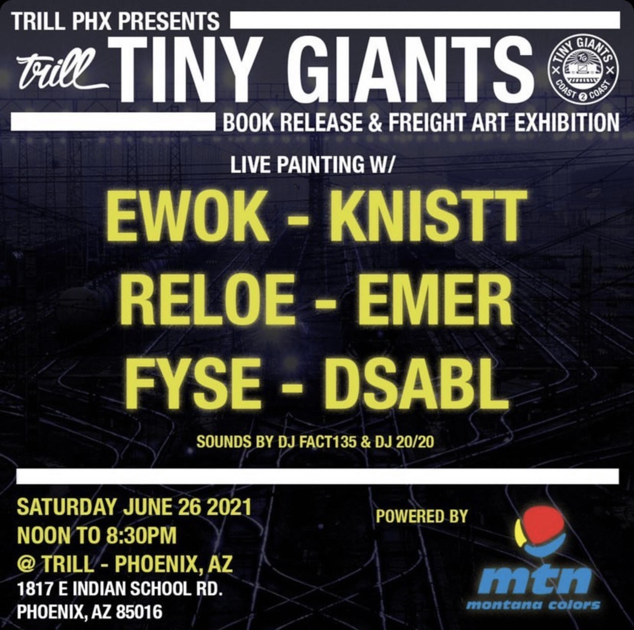 Tiny Giants Book Release