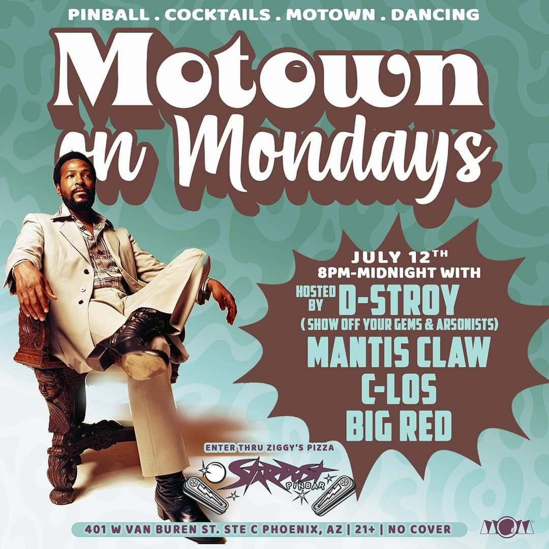 Motown On Mondays Phoenix