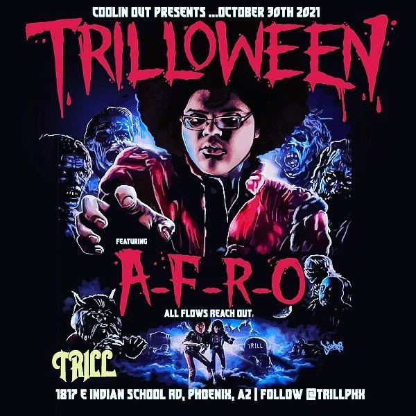 A-F-R-O Preforming At Trilloween