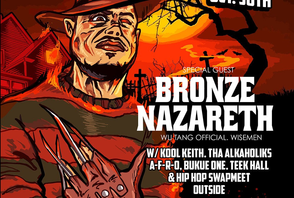 Bronze Nazareth Added to the Trilloween Lineup