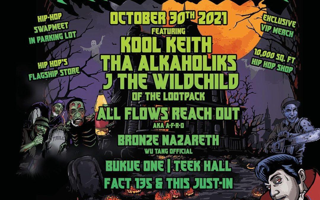 Trilloween 2021 at Trill Hip Hop Shop